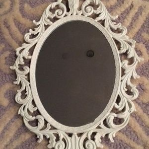 Other - White Baroque Mirror